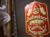 Sign SIGN BUDWEISER BEER SIGN